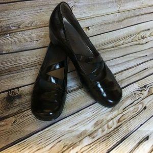 Josef Seibel Black Mary Janes Womens Slip On Shoes